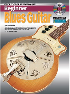 Progressive Beginner Blues Guitar Books and CDs   Guitar