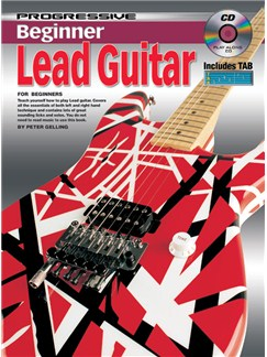 Progressive Beginner Lead Guitar Books and CDs | Guitar