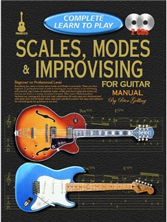 Progressive Complete Learn To Play Scales, Modes & Improvising For Guitar Manual Books and CDs | Guitar
