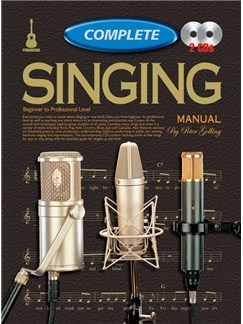 Progressive Complete Singing Manual Books and CDs | Voice