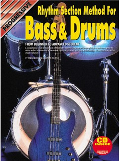 Progressive Rhythm Section Method For Bass & Drums Books and CDs | Bass Guitar, Drums