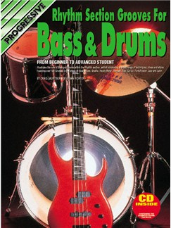 Progressive Rhythm Grooves For Bass And Drums Books and CDs | Bass Guitar, Drums