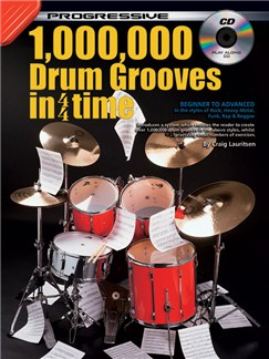 Progressive 1,000,000 Drum Grooves Books and CDs | Drums