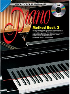 Progressive Piano Method: Book 2 Books and CDs | Piano