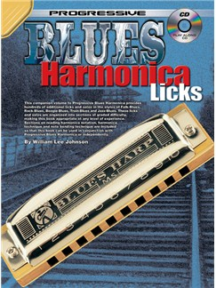 Progressive Blues Harmonica Licks Books and CDs | Harmonica
