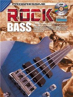 Progressive Rock Bass Books and CDs | Bass Guitar