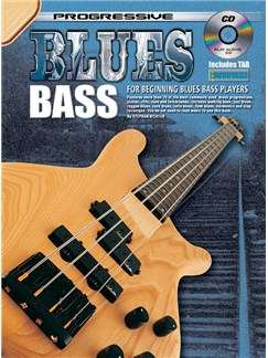 Progressive Blues Bass Books and CDs | Bass Guitar