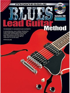Progressive Blues Lead Guitar Method Books and CDs | Guitar
