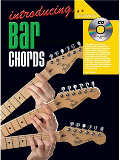 Introducing Bar Chords Books and CDs | Guitar
