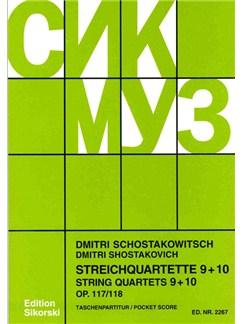Dmitri Shostakovich: String Quartets 9 - 10 Books | String Quartet