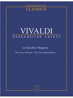 A. Vivaldi: The Four Seasons (Study Score) Books | Orchestra, Violin