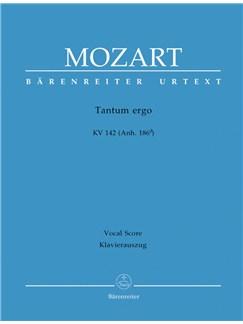 W. A. Mozart: Tantum Ergo In B-flat K.142 (Vocal Score) Books | Choral