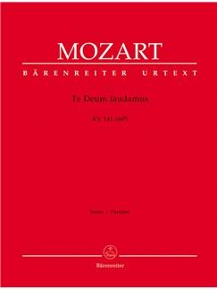 W. A. Mozart: Te Deum Laudamus In C K.141 (Full Score) Books | Orchestra