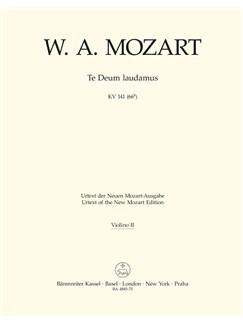 W. A. Mozart: Te Deum Laudamus In C K.141 (Violin II) Books | Orchestra