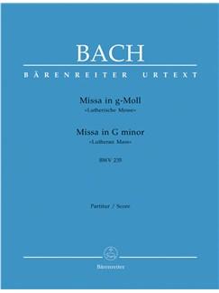 J.S. Bach: Lutheran Mass In G Minor BWV 235 - Full Score (Barenreiter Urtext) Books | Alto (Duet), Tenor (Duet), Bass Voice (Duet), SATB (Duet), Oboe (Duet), String Instruments (Duet)