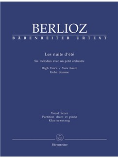 Hector Berlioz: Les Nuits D'Ete (High Voice) Books | High Voice, Piano Accompaniment