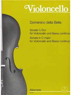 D. Dalla Bella: Sonata In C Major For Cello & Piano Books | Cello, Piano