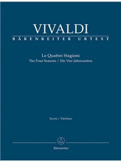 A. Vivaldi: The Four Seasons (Full Score) Books | Violin, String Orchestra, Continuo