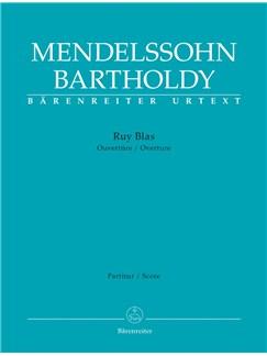 F. Mendelssohn: Ruy Blas Op.95 (Full Score) Books | Orchestra