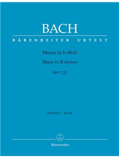 J.S. Bach: Mass In B Minor BWV 232 - Revised Edition (Full Score Paperback) Books | Orchestra