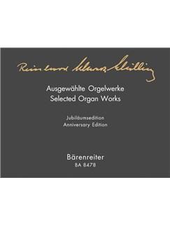 Reinhard Schwarz-Schilling: Selected Organ Works. Books   Organ