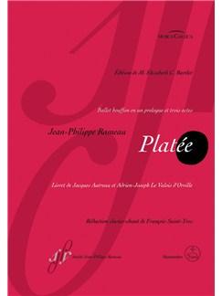J-P. Rameau: Platee (Vocal Score) Books | Opera