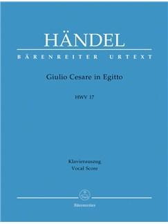 G. F. Handel: Giulio Cesare In Egitto HWV 17 - Julius Caesar (Vocal Score) Books | Opera