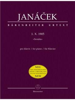 L. Janacek: Sonata 1. X. 1905 For Piano Books | Piano