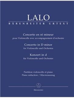 E. Lalo: Cello Concerto In D Minor (Cello & Piano) Books | Cello, Piano Accompaniment