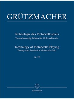 F. Grützmacher: Technology Of Violoncello Playing Op.38 Books | Cello