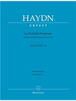 J. Haydn: La Fedelta Premiata Hob.XXVIII:10 (Vocal Score) Books | Opera