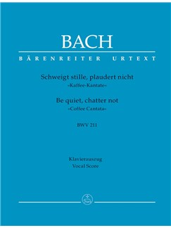 J.S. Bach: Cantata No.211 - Coffee Cantata BWV 211 (Vocal Score) Libro | Orquesta