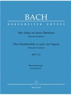 J.S. Bach: Cantata No.212 - Peasant Cantata BWV 212 (Vocal Score) Books | Choral, Orchestra