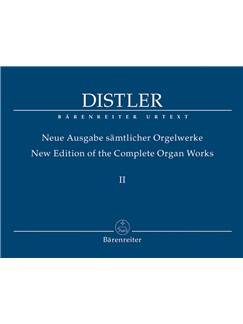 H. Distler: Organ Works Vol.2 Books | Organ
