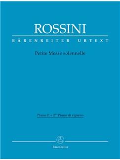 G. Rossini: Petite Messe Solennelle (Piano I/II) Books | Piano