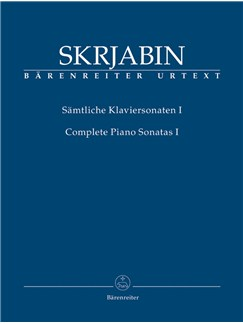 A. Scriabin: Complete Piano Sonatas - Volume 1 Books | Piano