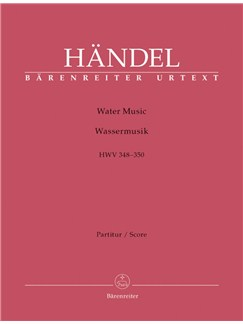 G. F. Handel: Water Music HWV 348-350 (Full Score) Books | Orchestra
