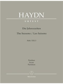 J. Haydn: The Seasons Hob.XXI:3 (Full Score Complete, Paperback) Books | Choral, Orchestra