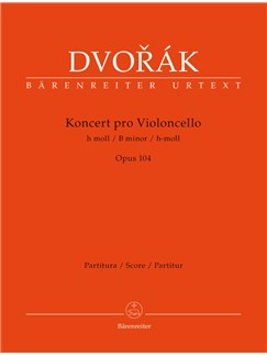 A. Dvorák: Cello Concerto In B Minor Op.104 (Full Score) Books | Cello, Orchestra