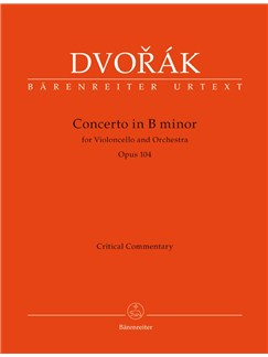 A. Dvorák: Cello Concerto In B Minor Op.104 (Critical Report) Books | Cello, Orchestra