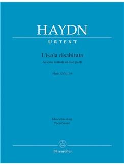 J. Haydn: L'Isola Disabitata - Hob.XXVIII:9 (Vocal Score) Books | Opera