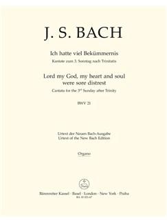 J.S. Bach: Cantata No. 21 - BWV 21 (Organ) Books | Choral, Orchestra
