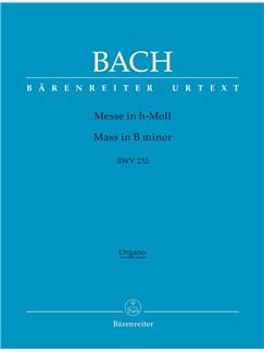 J.S. Bach: Mass In B Minor BWV 232 - Revised Edition (Organ) Books   Organ