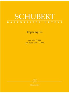 Franz Schubert: Impromptus Op.90 D 899, Op. Post. 142 D 935 Books | Piano