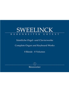 J. P. Sweelinck: Complete Organ & Keyboard Works In 8 Volumes Books | Organ