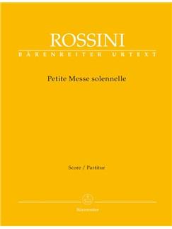 G. Rossini: Petite Messe Solennelle (Full Score, Paperback) Books | SATB, Piano Chamber, Harmonium