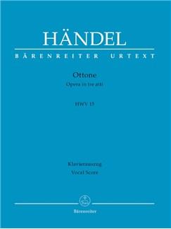 G. F. Handel: Ottone HWV 15 (Vocal Score) Books | Opera