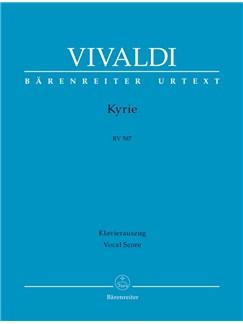 A.  Vivaldi: Kyrie In G Minor RV 587 (Vocal Score) Books | Choral, Orchestra