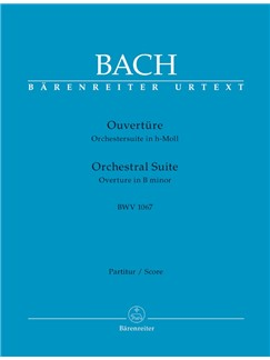 J.S. Bach: Orchestral Suite - Overture No.2 In B Minor BWV 1067 (Full Score) Books | Orchestra