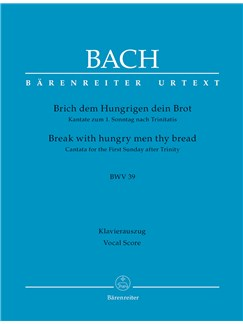 J.S. Bach: Cantata No.39 - BWV 39 (Wind Set) Books | Wind Instruments
